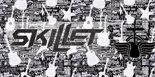 Skillet Black And White
