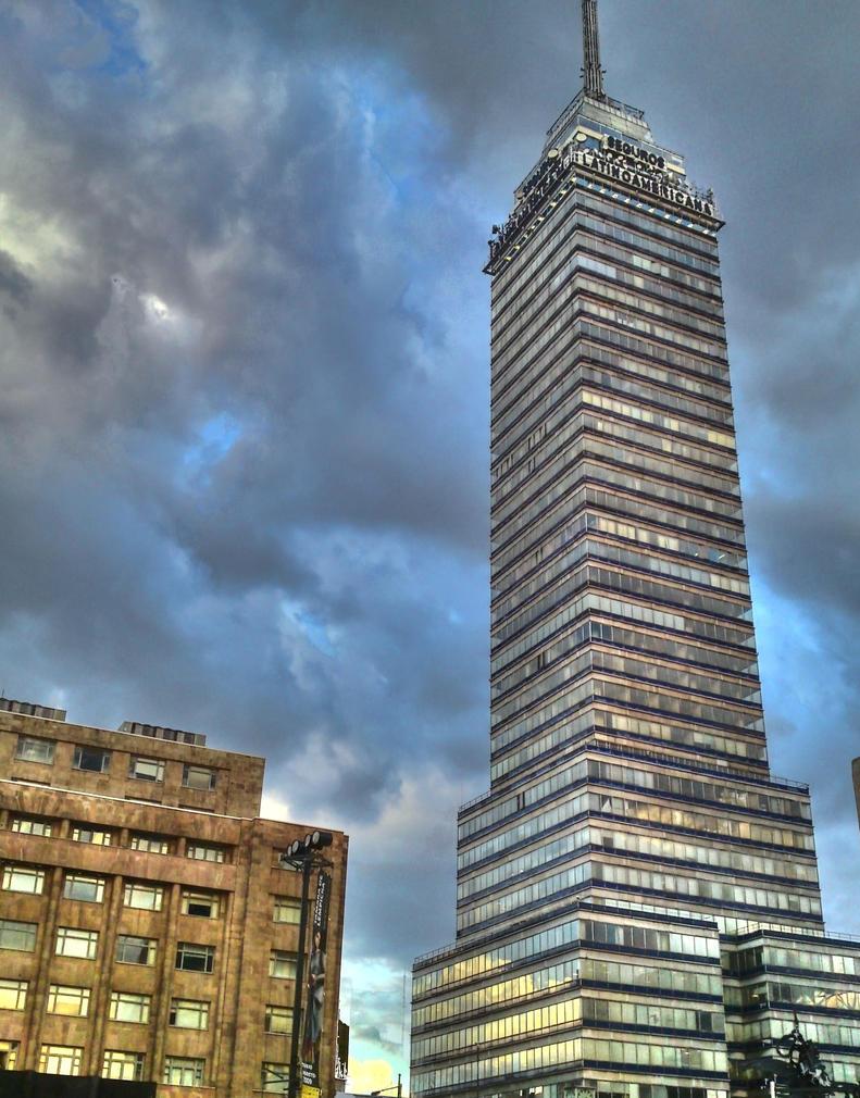 Torre Latinoamericana 2 by wavespell