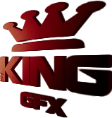 King GFX 3D Logo RED by WHU-Dan