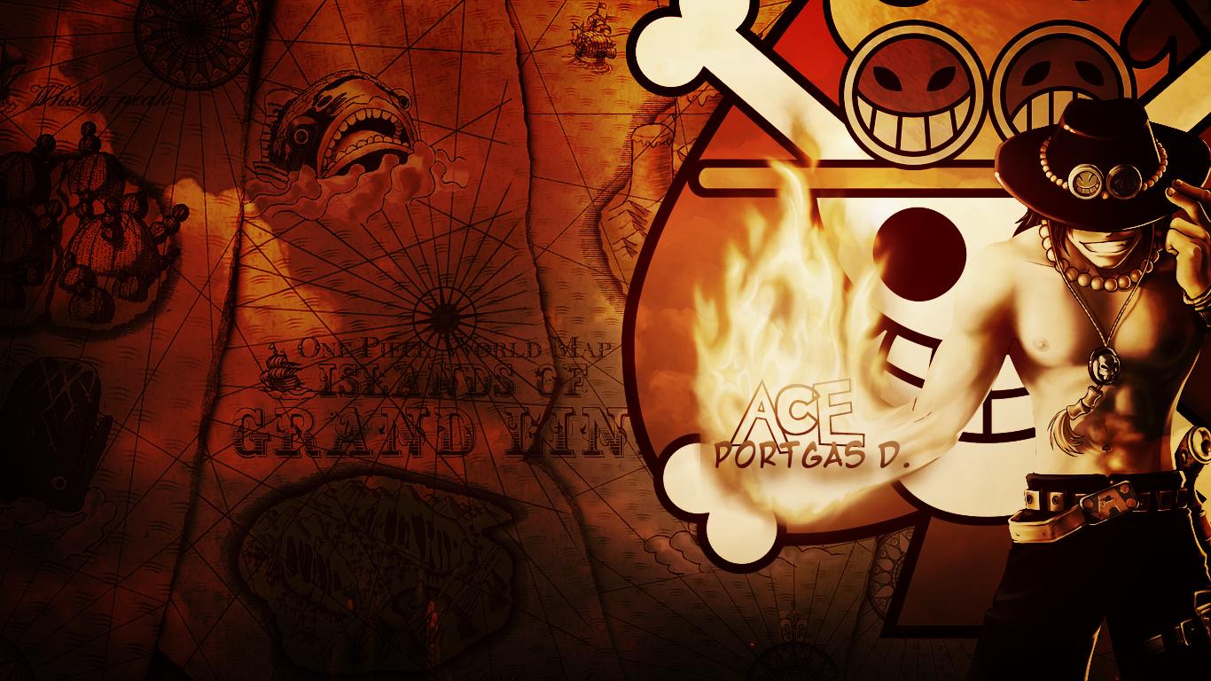 Portgas D Ace One Piece Desktop Wallpaper By Whu Dan On