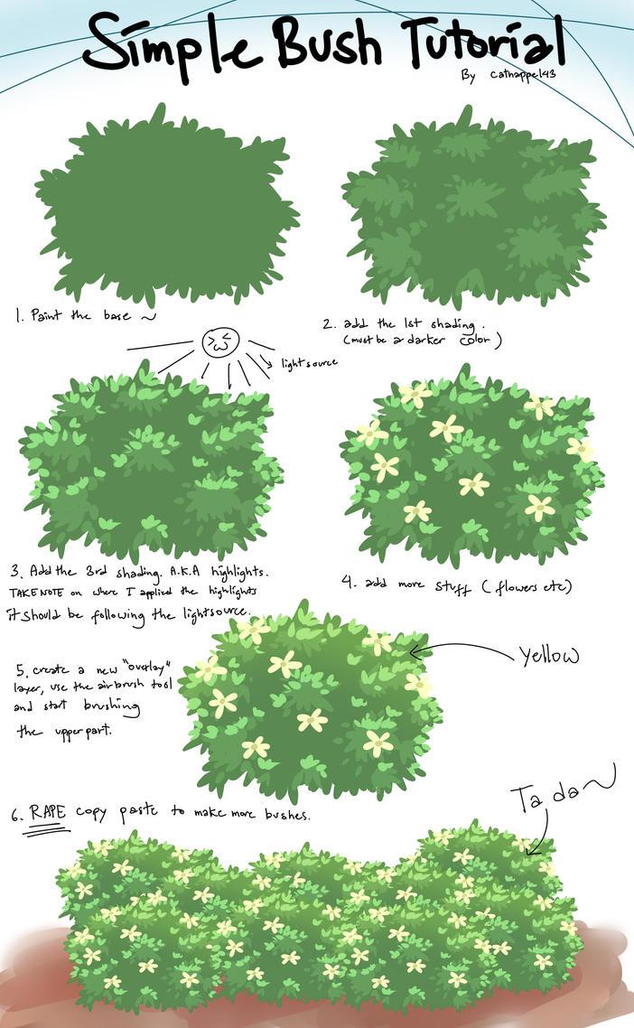 Bush tutorial by catnappe143