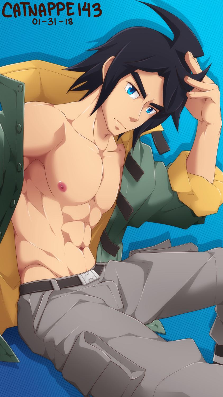 Patreon Free Reward - Mikazuki Augus by catnappe143