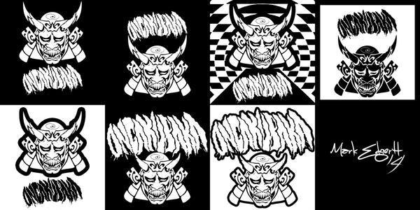 Ongakubaka - record label design by oxfordcoma