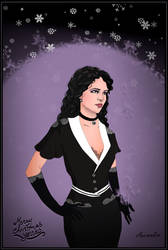 Yennefer of Vengerberg by Marmottine1