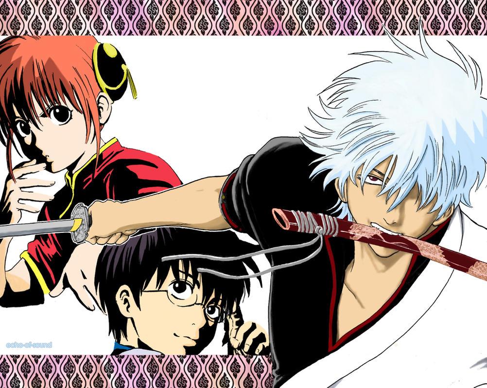Gintama Manga Color By Echo Of Sound
