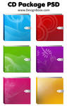 CD Package Free PSD