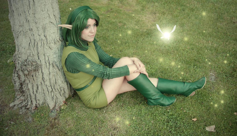 Saria - The Legend of Zelda Ocarina of Time by MerianCloset