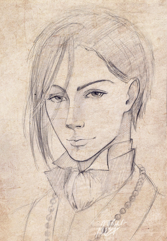 Sebastian portrait by frassino