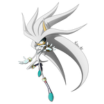 Silver The Hedgehog   Big Sonic Collab by Mystery--Mist