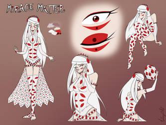 Miracle Matter   Gijinka Design by MysteryMysticMist