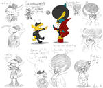 Rival Birds | Doodles