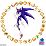 Sonic 30th Anniversary by Mystery--Mist