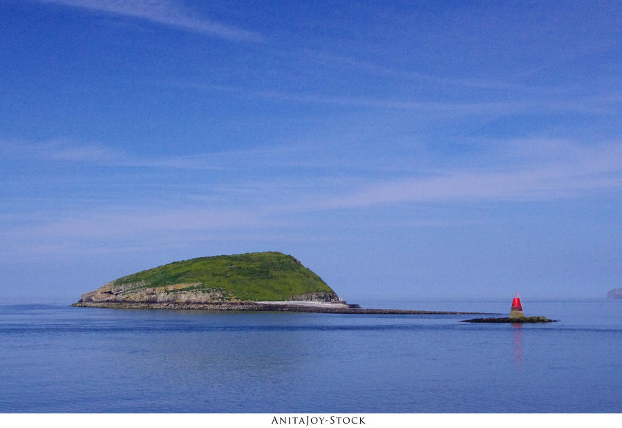 Island Waterscape by AnitaJoy-Stock