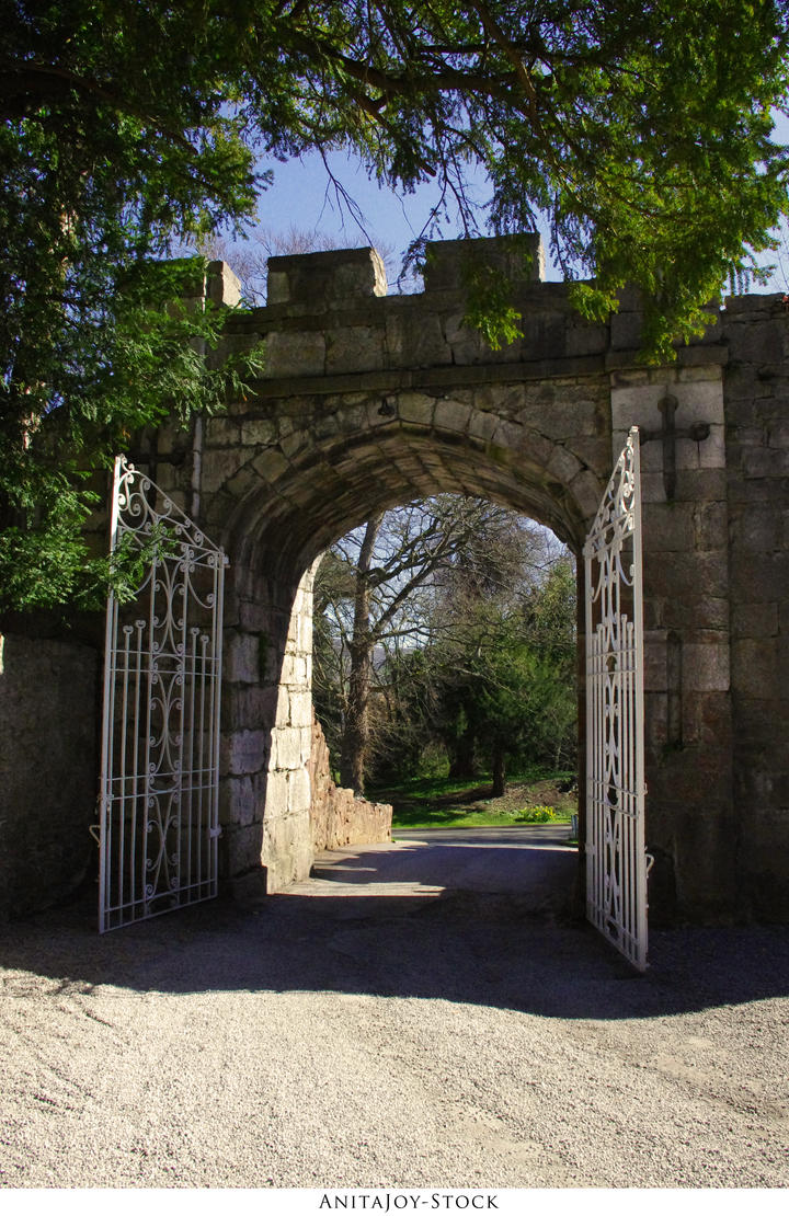 Castle Grounds 05 by AnitaJoy-Stock