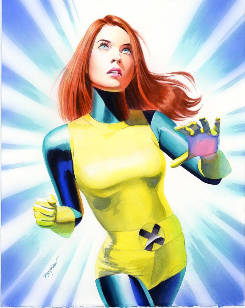 Avatars Super Héros - Page 2 Jean_Grey_Study_by_mikemayhew