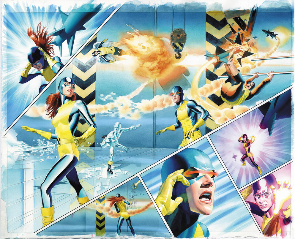 X-Men Origins Jean Grey p20,21 by mikemayhew
