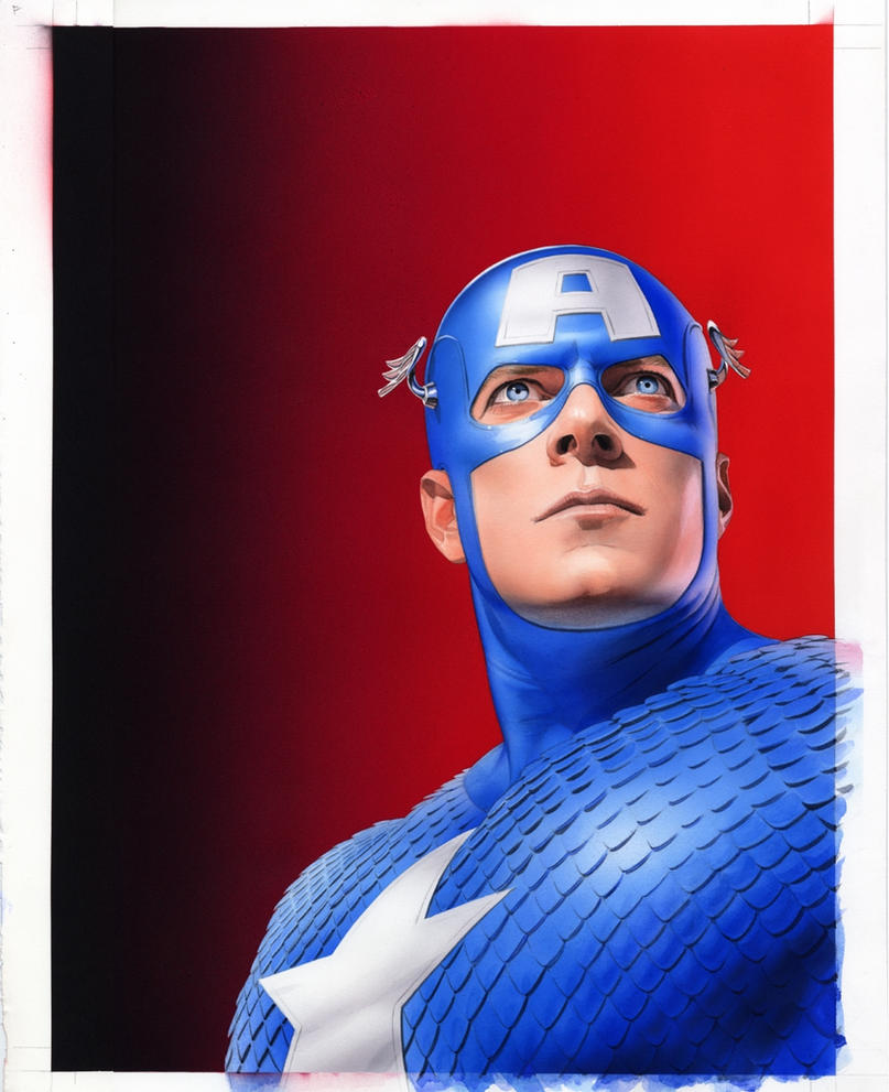 Wizard187 CaptainAmerica Cover by mikemayhew