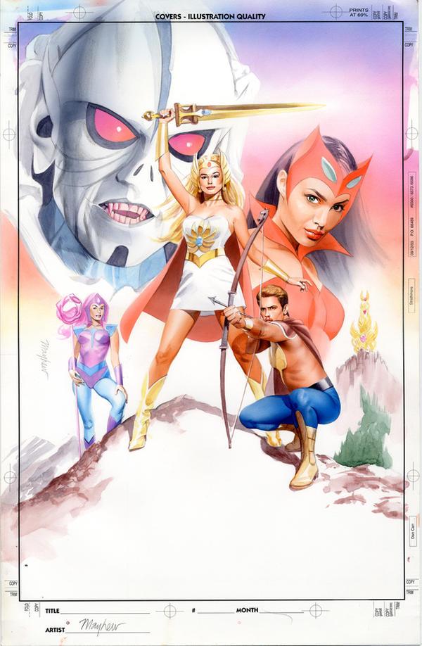 She-Ra Parody Poster by mikemayhew