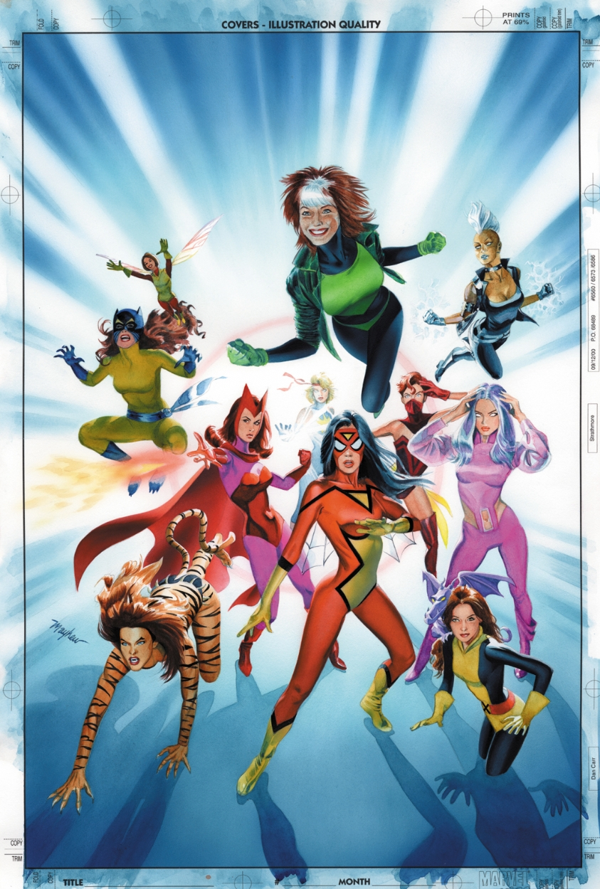 Women of Marvel 2 Cover by mikemayhew