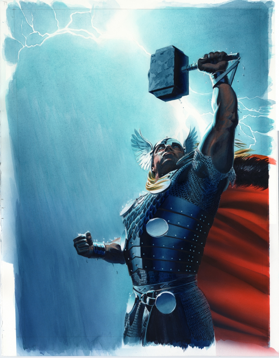 Mighty Illustration of Thor
