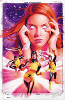 X-Men Origins: Jean Grey Cover by mikemayhew