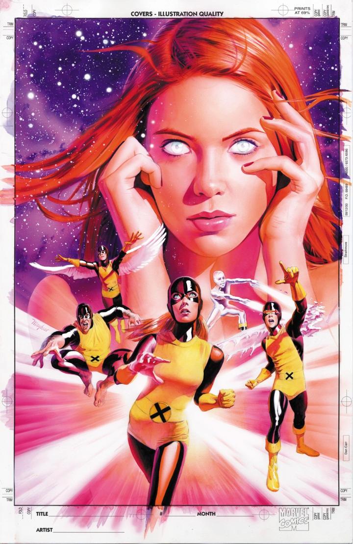 X-Men Origins: Jean Grey Cover by mikemayhew