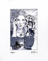Jean Grey Cover Marker Sketch by mikemayhew