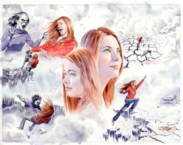 Jean Grey pages 14 and 15 by mikemayhew