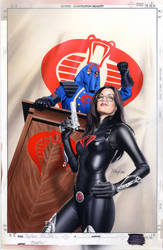 GI Joe ToyFare Cover Painting by mikemayhew