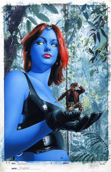 Mystique 17 Cover Painting by mikemayhew