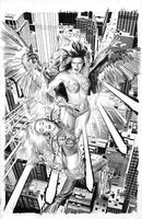 Witchblade 110 Cover Art by mikemayhew