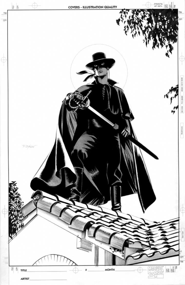 Zorro 2 Cover By Mikemayhew On DeviantArt