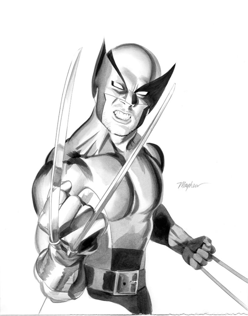 Dark Avengers Wolvie by mikemayhew