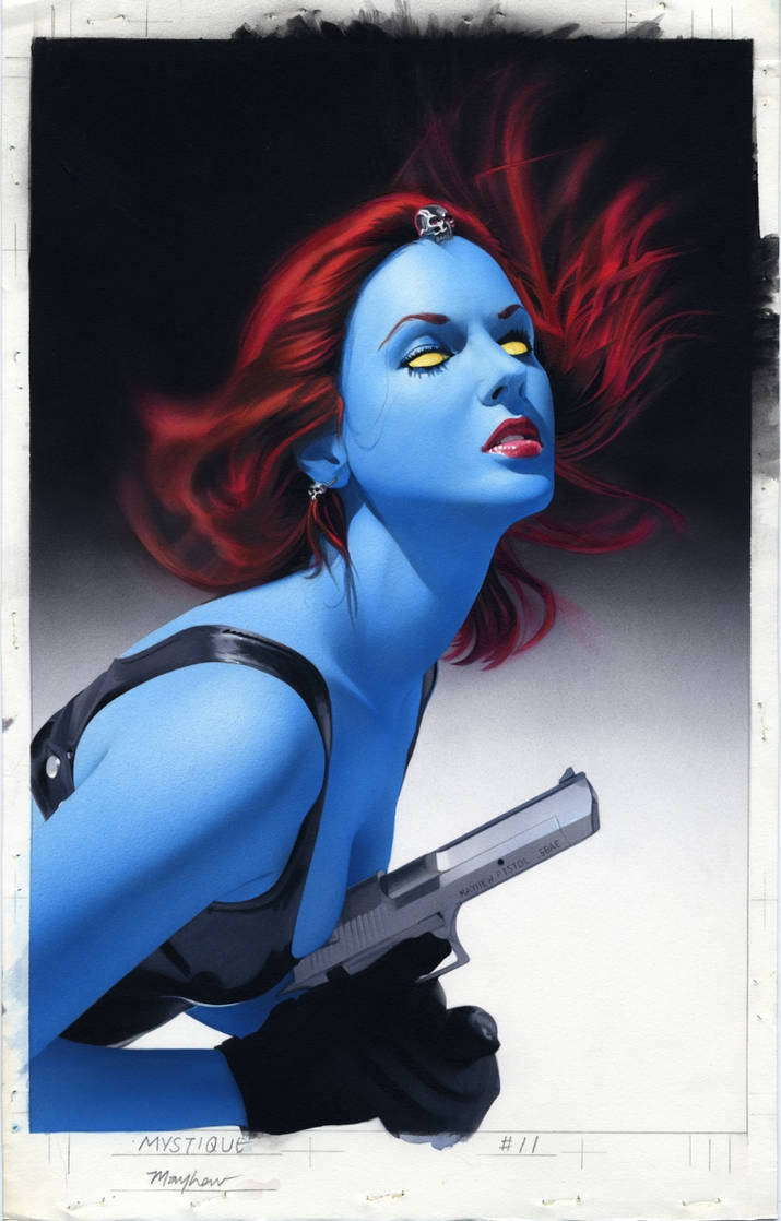 Mystique 11 Cover by mikemayhew on DeviantArt
