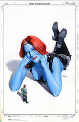 Mystique 13 Cover Art by mikemayhew