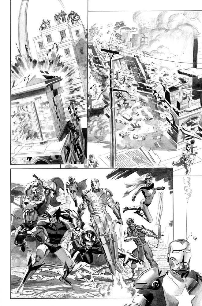 New Avengers Annual 3 page 24 by mikemayhew