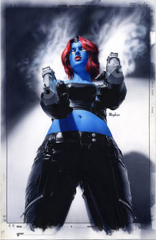 Mystique 18 Cover Painting