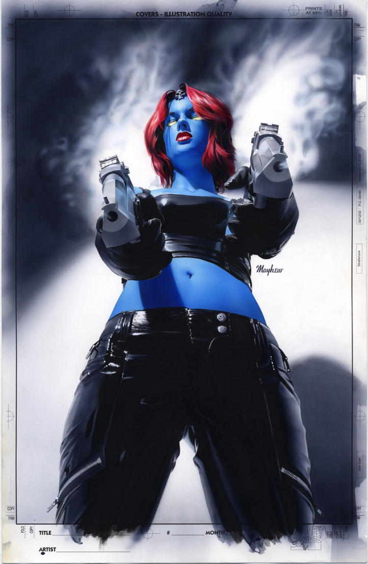 Mystique 18 Cover Painting by mikemayhew