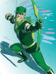 Green Arrow Color
