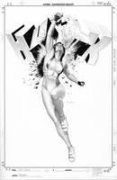 She-Hulk 6 Cover Art by mikemayhew