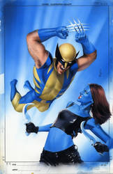 Mystique 23 Cover Painting by mikemayhew