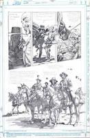 Zorro: Matanzas 3 page 14 Art by mikemayhew