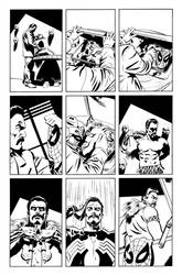 Spidey vs. Kraven Page 4 by mikemayhew