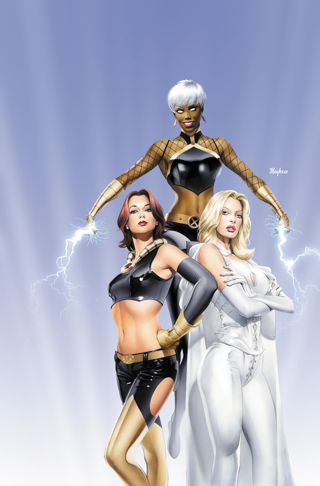 ComicBox Ultimate X-Girls by mikemayhew