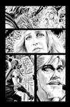 Green Arrow 7 Page 19 B+W art