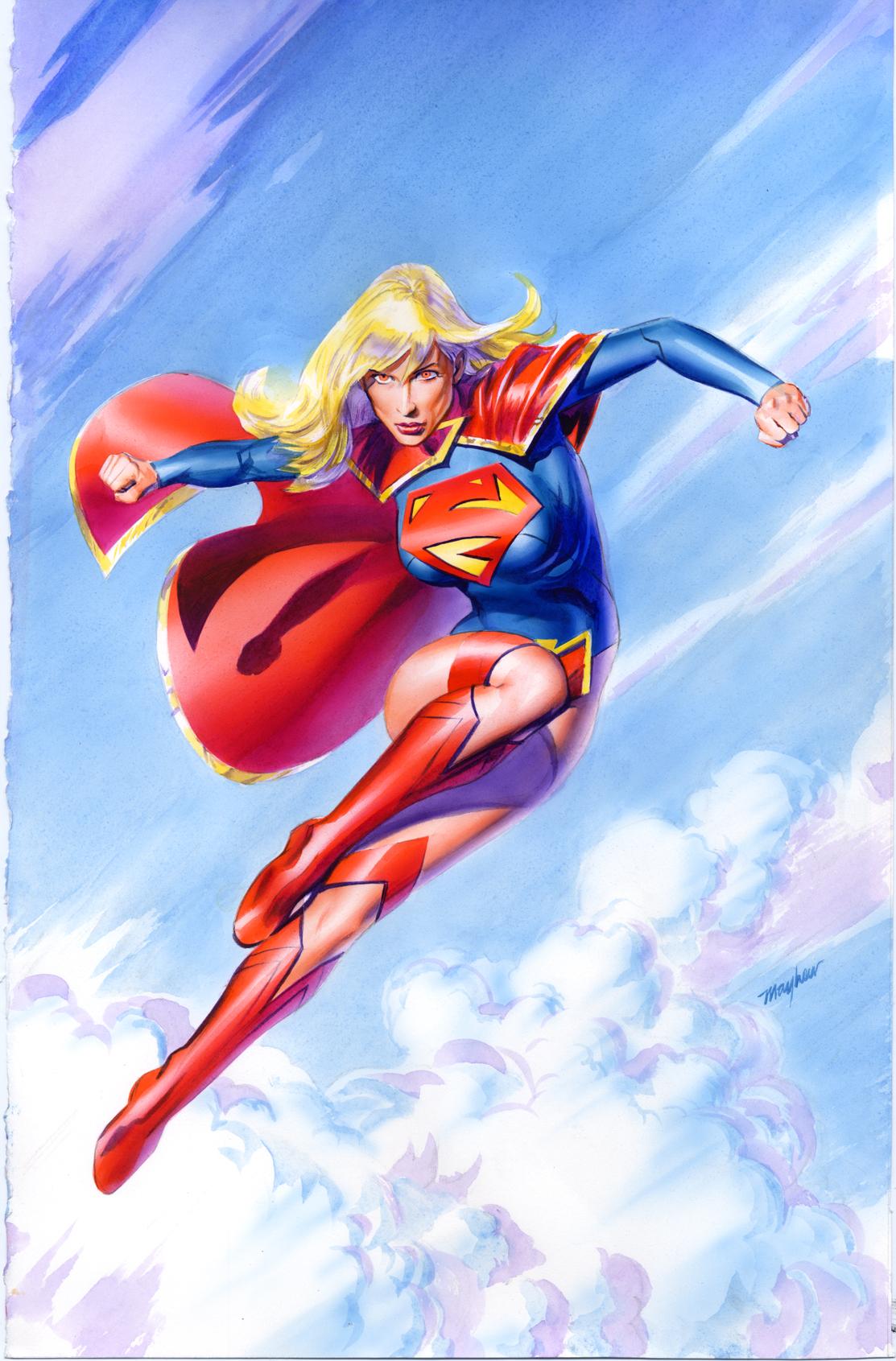 supergirl drawings comic - photo #2