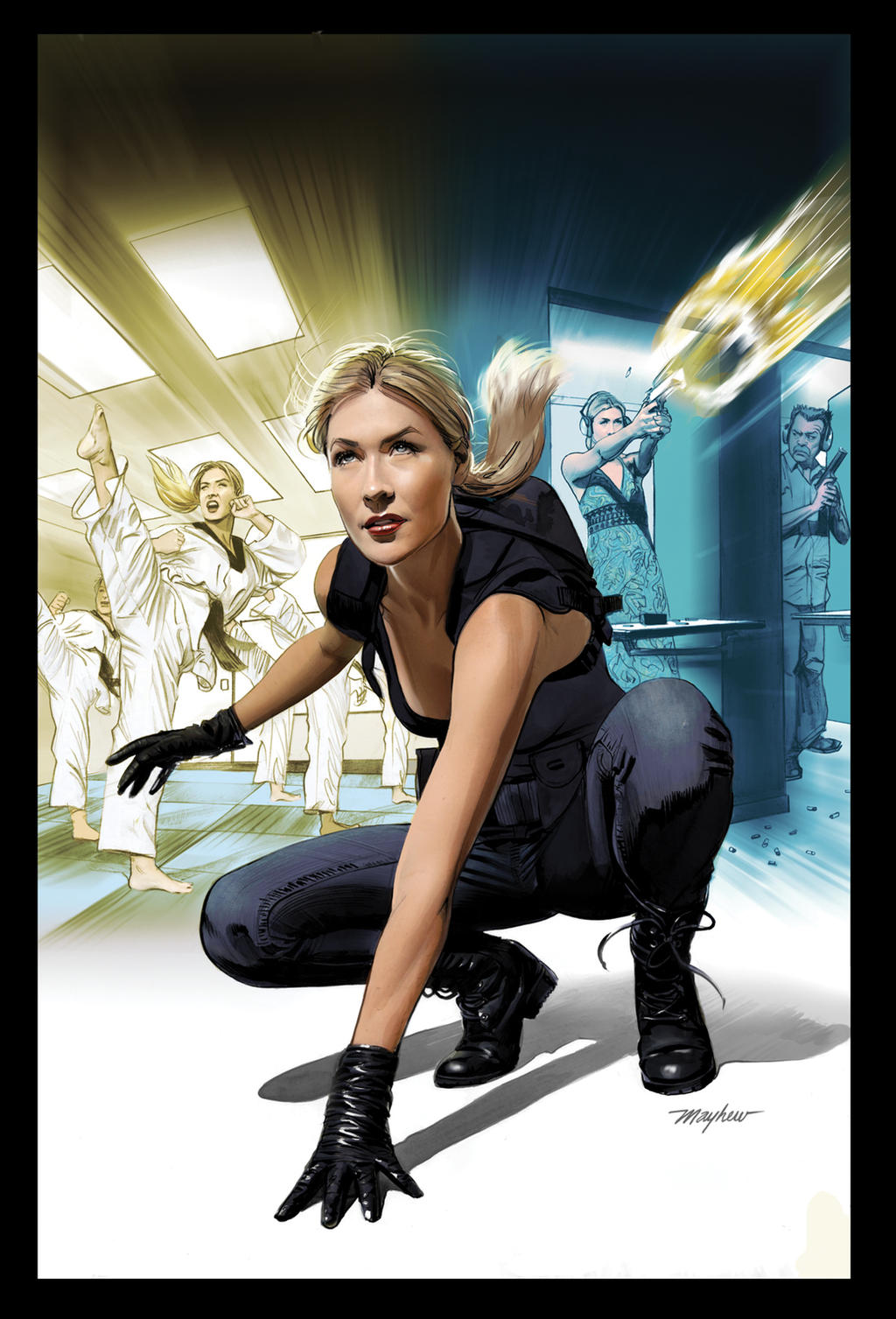 JENNIFER BLOOD: FIRST BLOOD #1 Cover Art by mikemayhew