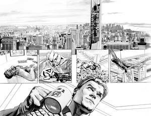 AVENGERS 31 Pages 8 and 9