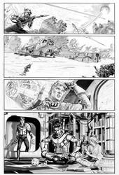 THE STAR WARS #1 Page 2 Line Art
