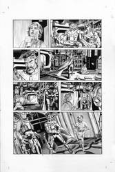 THE STAR WARS #1 Page 3 Line Art